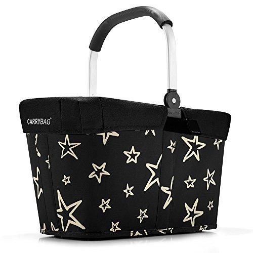 reisenthel - EXKLUSIVES ANGEBOT! carrybag + GRATIS passendes cover ! Einkaufskorb Einkaufstasche (stars)