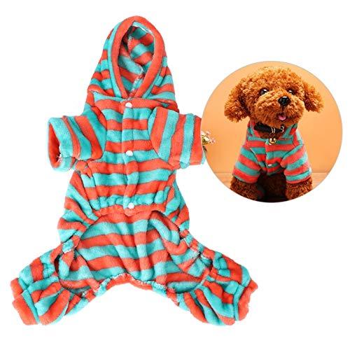 SALUTUYA Disfraz casero de Ropa para Perros y Gatos, Sudaderas con Capucha para Perros, adopta (XS)
