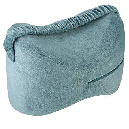 Kniesteunkussen voor zijslaper, Sciatic Nerve Pijnstiller Kussen Zwangere Knievoet Lift Comfortabele Anti-Druk Geheugen Beenkussen met Wasbare Cover