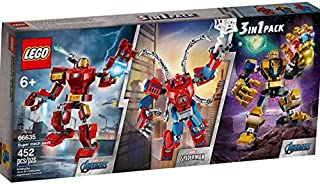 Lego Super Heroes Tri-Pack 3 Sets Included: Iron Man,...
