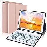 Italiano Tastiera con Custodia per iPad 8a/7a Generazione 10.2 Pollici, iPad Air 3 / iPad Pro...