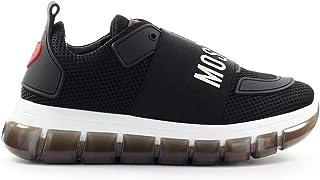 Sneaker Elastico Logo Nero Love Moschino 41 SS 2020