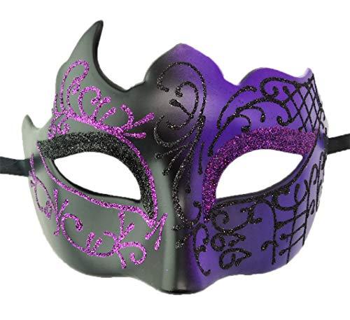 Flywife Hombres Mascarada Máscara Romano Griego Fiesta Má