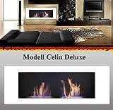 Gel y etanol Chimenea modelo Celin Deluxe Blanco