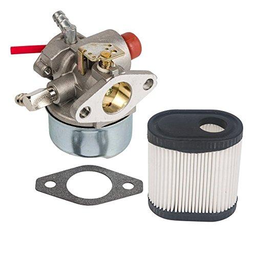OuyFilters Repuesto de carburador con Junta Filtro de Aire 36905 para cortacésped Tecumseh Toro Recycler 20016 20017 20018 6.75 HP Engines Carb
