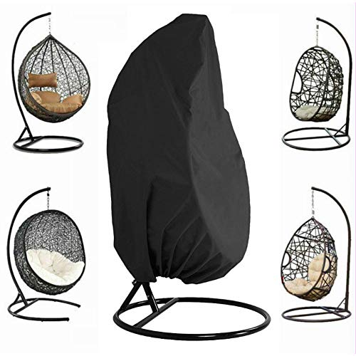 Patio Hanging Chair Cover,Egg Swing Chair 210D waterdicht en stofdicht stof outdoor tuin rotan rieten schommelstoel Cover(190 * 115Cm)