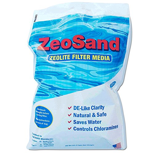 ZeoSand Pool Filter Sand Alternative - 50 lbs.