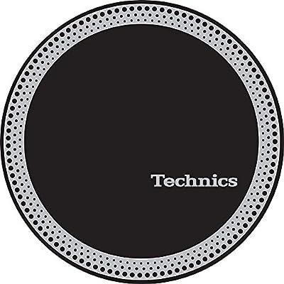 Technics 60666 Strobe 3 Slipmat - Silver/Black