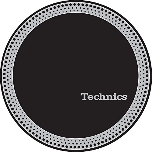 Technics 60666Strobe 3Slipmat, Silber/Schwarz