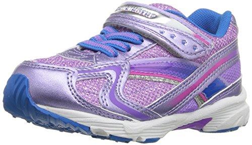 TSUKIHOSHI Girl's Glitz Sneaker, Purple/Royal, 13 M US Little Kid