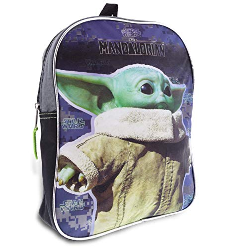 "Star Wars""The Child"" Baby Yoda 11"" Half Moon Backpack Standard"