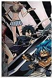 TANXM Lienzo De Impresión 40x60cm Sin Marco Fondos de Pantalla Full HD de Animes, póster 4K, póster Decorativo para Sala de Estar, Pintura para Dormitorio
