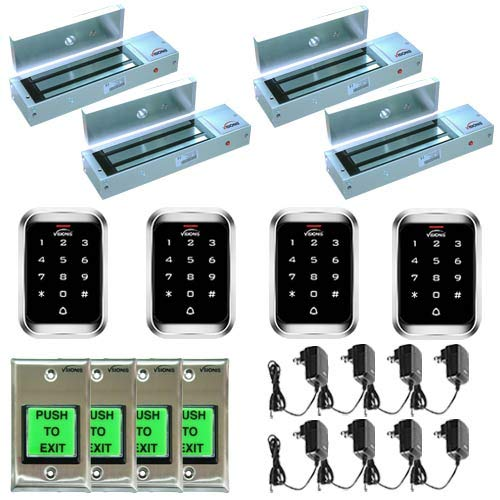 Check Price FPC-5136 Four door Access Control outswinging