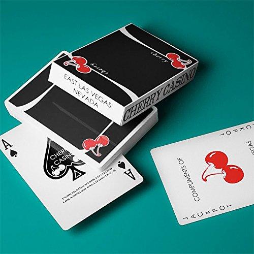 Carte da Gioco Cherry Casino V3 True Black