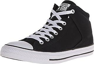 Converse Chuck Taylor All Star Street HIGH TOP Sneaker, Black/White, 9.5 M US