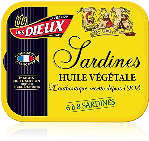 Sardinen in Pflanzenöl I Trésor des Dieux