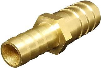 "1//4/"" x 1//8/"" Brass Barbed Reducer//Splicer Hose Adaptor Fitting #1"