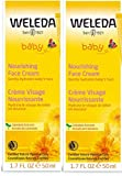 Weleda Weleda baby calendula face cream, 1.7 fl oz (pack of 2)