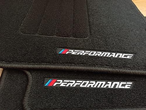 Accesorionline Alfombrillas para E46 alfombras con Medidas y Anclajes Originales