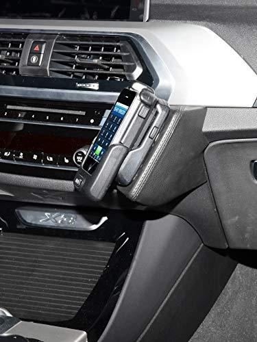 KUDA 3201 Halterung Leder Schwarz Dakota (K3000) für BMW X3 (G01) ab Bj. 2017