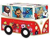 Le bus à histoires - Coffret avec 6 livres