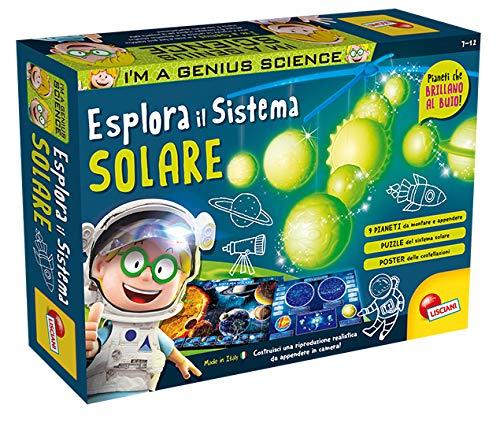 Liscianigiochi- I'm a Genius Science Gioco per Bambini Laboratorio Esplora Il Sistema Solare, 60542