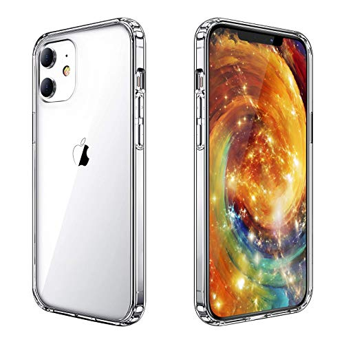 Yayoii Compatible with iPhone 12 Mini Case, 4 Corners Shockproof Crystal Clear Case, Anti-Yellowing Scratch-Resistant Military Grade Fully Protective TPU Cover, 5.4 inch (2020)