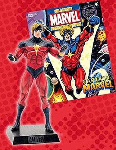 seguro de calidad Figura de Plomo Plomo Plomo Marvel Figurine Collection No 164 Captain Marvel  autorización