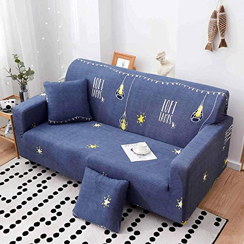 B/H Lavable/Antiácaros Funda de sofá,Funda de sofá elástica con Todo Incluido, Funda de sofá de Tela-J_235-300cm,Sillón Elastano Fundas de Sofá