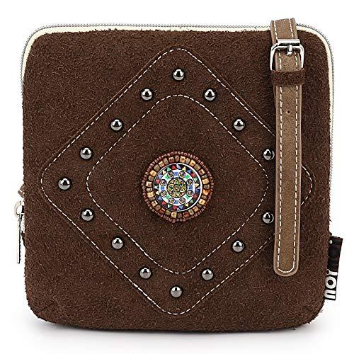 noi-noi Amara Dark Brown – aparte kleine Handtasche vom Trend-Label