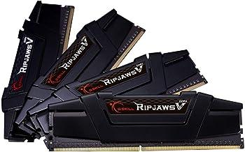 G.Skill RipJaws 5 Serisi Siyah 128 GB (4 x 32 GB) DDR4 3600 MHz CL18, F4-3600C18Q-128GVK