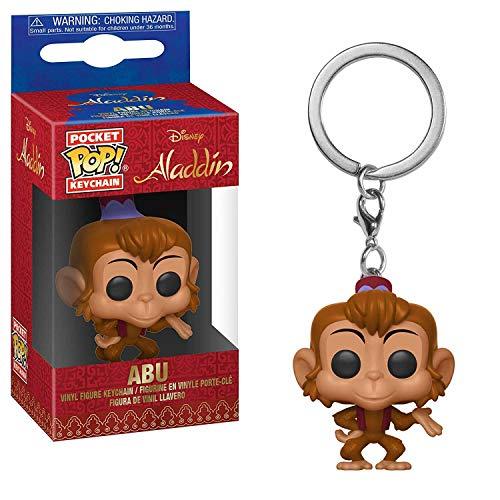 Funko 35927Pocket Pop Keychain: Disney: Aladdin Abu, Multi