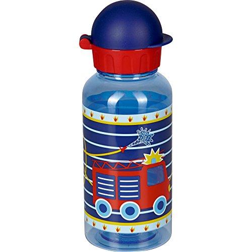 Spiegelburg 14145 Trinkflasche Feuerwehr (0,4l / aus Tritan)