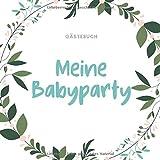 A5 Gästebuch punktiert Geschenkidee für die Babyparty