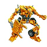 Transformers Toys Studio Series 60 Voyager Class Revenge of The Fallen Movie Builicon Scrapper Action Figure – 8 Anni in su, 6,5 cm, E7213UL0