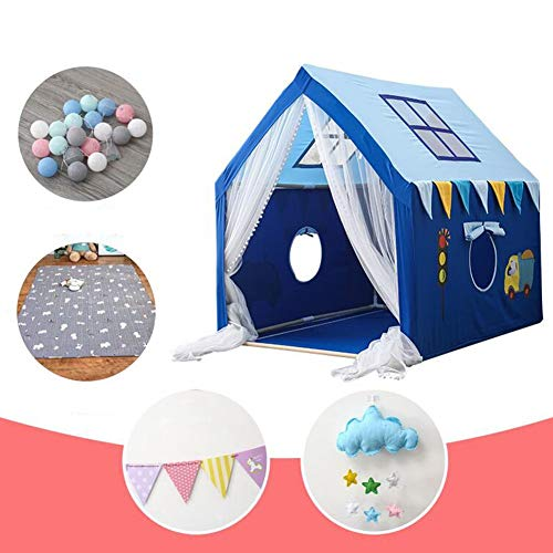 MUMA Children Teepee, Play Tent, Princess Castle, Indoor Outdoor, Baby Toy House, Infant Play House, is The Best for Boys and Girls (Color : C4)