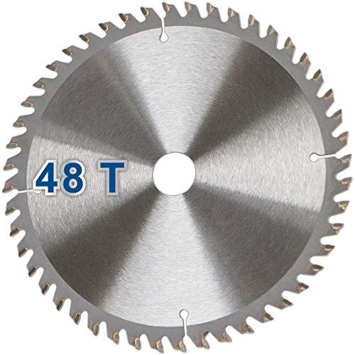 Scheppach 3901802705 toebehoren zaagblad, geschikt voor de invalzaag PL55, massief hout, laminaat en kunststoffen, Ø 160 x 20 x 2,2 mm / 48 Z, diameter
