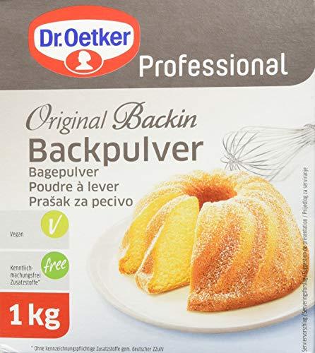 Dr. Oetker Professional Backpulver, 1 x 1kg Packung, Original Backin