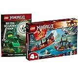 Collectix Lego Set – Avión Ninjago con el avión ninja 71749 + La victoria del ninja verde (cubierta blanda)