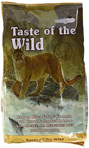 Taste Of The Wild pienso para gatos con Trucha y Salmon ahumado 2 kg Canyon River