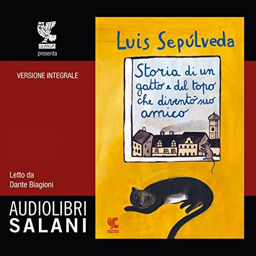 Storia di un gatto e del topo che diventò suo amico audiobook cover art
