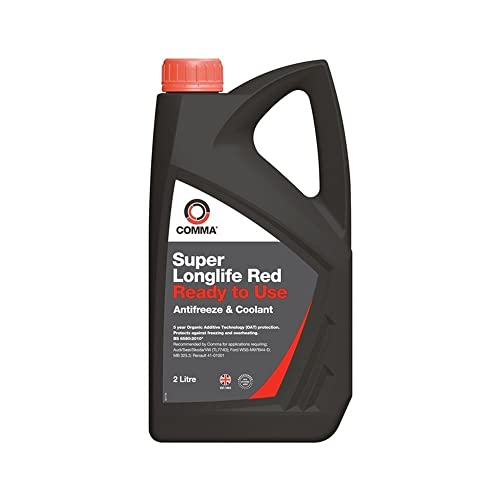 Comma SLC2L 2L Super Longlife Red Ready to Use Antifreeze and Coolant