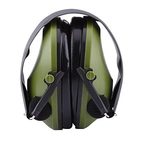 Actieve ruisonderdrukking oorbeschermers headset gehoorbescherming oorbeschermers voor bouw jachtschieten militair leger-groentac6 g