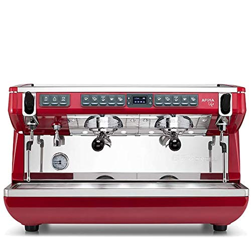 Great Price! Nuova Simonelli Appia Life XT Digit Volumetric 2 Group Espresso Machine