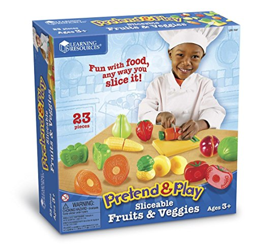 Learning Resources Fruits/Légumes à Couper Pretend & Play