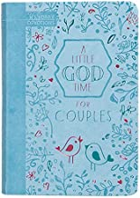 A Little God Time for Couples: 365 Daily Devotions (Imitation/Faux Leather) – Motivational Devotions for Couples, Perfect Gift for Engagements, Newlyweds, Anniversaries, Holidays, and More