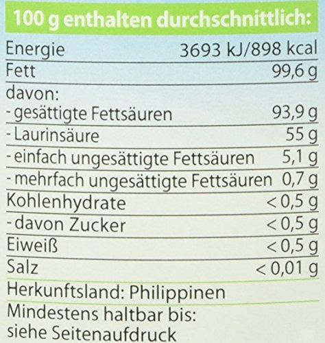 Dr. Goerg Premium Bio-Kokosöl – 1000 ml - 3