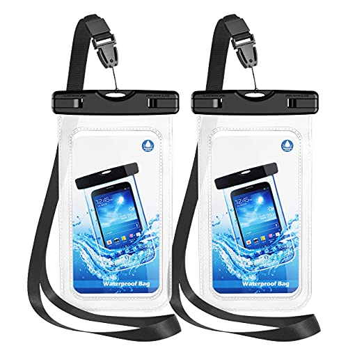Waterproof Phone Pouch, IPX8 Waterproof Case Dry Bag Waterproof Phone Case, Compatible with 12 Pro...