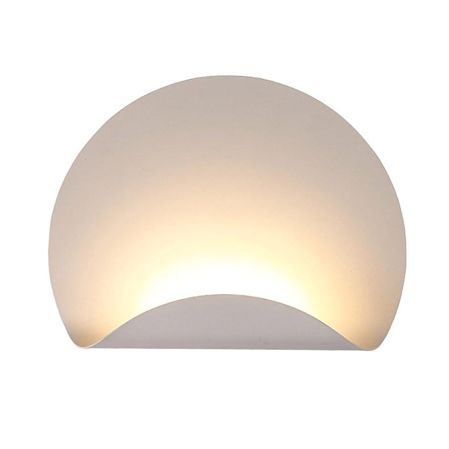 有害経験者戦争ラオハオ 壁ランプLED現代アルミニウム壁ランプ壁耳壁ランプリビングルームの寝室の壁ランプ ウォールウォッシャー (Color : White light)
