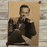 QAQTAT Richard Phillips Feynman Physiker Wissenschaftler